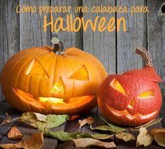 Cómo hacer una calabaza para fiesta de #halloween