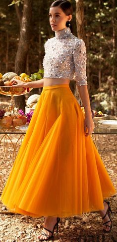 Georges Hobeika Spring-summer 2020 - Ready-to-Wear Kurti Designs Party Wear, Lehenga Designs, Dress Indian Style, Indian Dresses, Elegant Dresses, Cute Dresses, Lehenga Gown, Anarkali, Bollywood Outfits