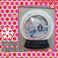 in third grade : Snowglobe Writing Prompt
