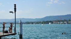 Reisetipps für Zürich im Sommer: Baden im Zürichsee / Summertime Travel Guide for Zurich: swimming in the lake