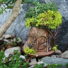 Fairy House 'Petite' P25: indoor outdoor Fairy by TheElfinPeddler