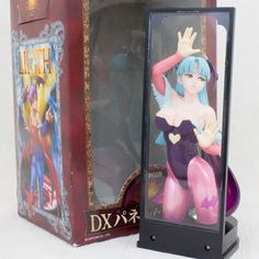 Lord of Vampire Savior Morrigan Aensland DX Panel & Figure Capcom JAPAN GAME 2