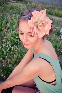@Gillian Ree handmade flower headbands. www.gracelikerain.ca