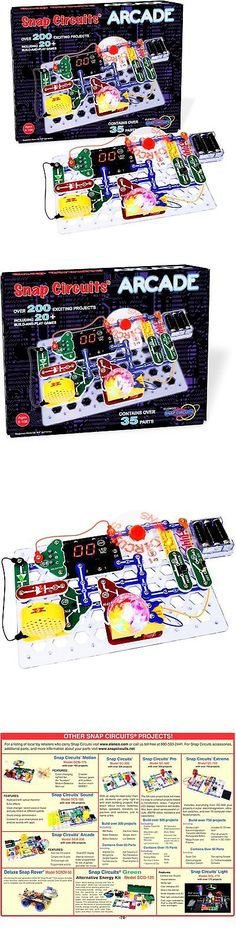 Electronics and Electricity 158698: Snap Circuits Arcade Electronics Discovery Kit -> BUY IT NOW ONLY: $54.61 on eBay!