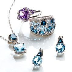 Make It Sparkle: Topaz & Tanzanite
