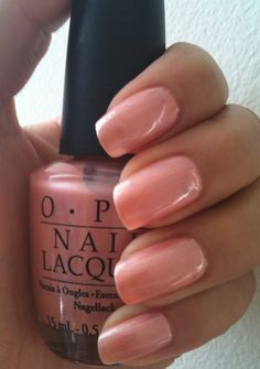 OPI - TUTTI FRUTTI TONGA  I love this color!  Find me on Facebook - Me & my nails