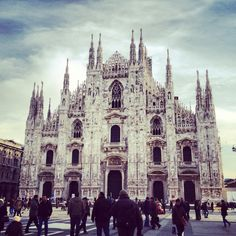 Duomo  #milano #italy #italia #duomo #church #milan