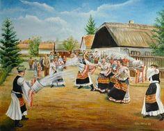 Vintage Easter, Retro, Folk, Painting, Image, Postcards, Google, Photos, Clothes