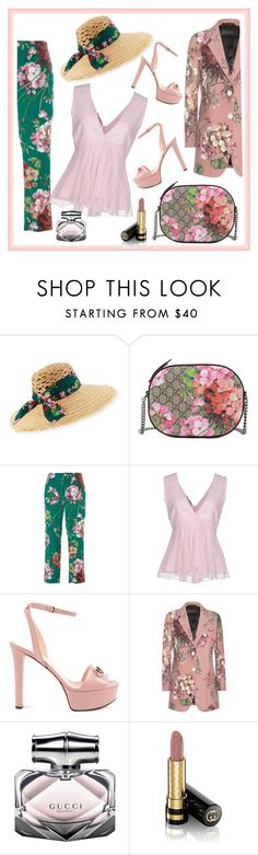 """""""Untitled #3363"""" by julinka111 ❤ liked on Polyvore featuring Gucci and Pinko"""