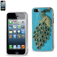 $32.50 Reiko Hardshell Slim Diamond Case For Apple iPhone 5s/Apple iPhone 5 - made with leather on the back of the case, that highlights the beautiful design of your phone. (get free shipping when you subscribe to our newsletter)