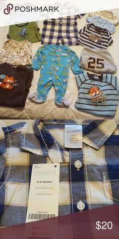 4c568f198 Old Navy Like New Christmas Onesies Bundle of 3