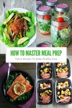 Master Meal Prep and make healthy eating a breeze!