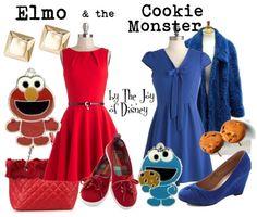 Elmo & Cookie Monster - May 15
