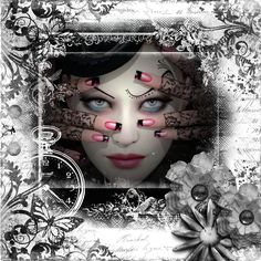 This page is made up of masks overlays and flowers picture from the net .One of my favourites...