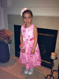 My granddaughter getting ready for the Daddy-Daughter Dance in Frederick, MD.