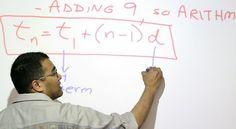 In this May 4, 2010 photo, Hemant Mehta teaches his Honors Algebra Two/Trigonometry class at Neuqua Valley High School in Naperville, Ill.  - (AP Photo/Corey R. Minkanic)