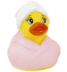 Shower Fresh Rubber Duckie - Bigger Rubber Ducks - quackergiftshop.com