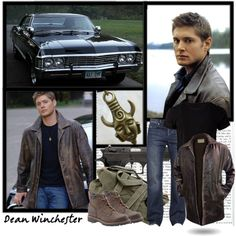 Dean Winchester, created by faithsnyder on Polyvore