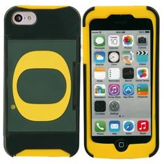 Oregon Ducks iPhone 5 Credit Card Case I need this for my Galaxy S5!!!