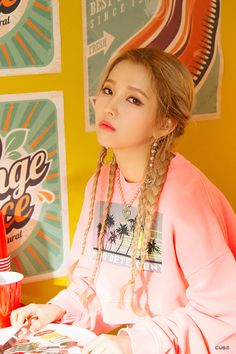 Jeon So-yeon( Hangul : 전소연; born August better known mononymously asSoyeon, is a South Korean singer and rapper signed to Cube Entertainment . She is the leader of Korean girl group (G)I-DLE .She is best known for competing in the television showsProduce Kpop Girl Groups, Korean Girl Groups, Kpop Girls, Btob, Wattpad, K Pop, Mini E, Soo Jin, Cube Entertainment