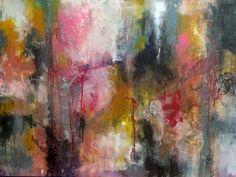 Conversation with Turner, mixed media - 30x40x2.  www.mj2art.com