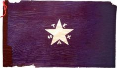 The First Flag of the Republic designed by Lorenzo de Zavala