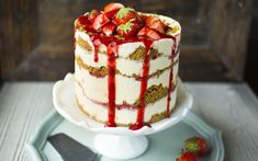 Frossen «strawberry cheesecake»