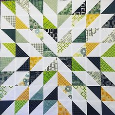 Wow, look at this Starburst Quilt from our tutorial this past Friday! Isn't it…