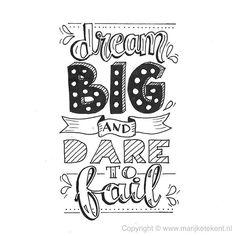 Dag 21 van de #dutchlettering challenge van mei 2017. . . . . . . #typography #calligraphy #brushcalligraphy #brushlettering #quote #lettering #letterart #handdrawn #handwritten #handmadefont #handletteren #handlettering #dutchletteringchallenge #draw #drawing #tekenen #tekening #sketch #doodle #typspire #typedaily