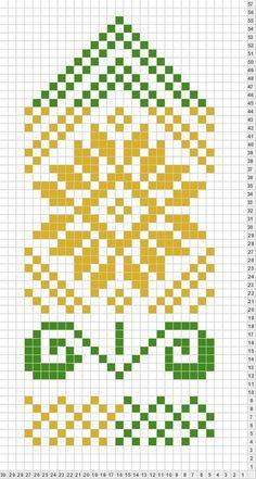 Knitted Mittens Pattern, Fair Isle Knitting Patterns, Knit Mittens, Knitting Charts, Loom Patterns, Knitted Gloves, Knitting Stitches, Crochet Patterns, Motif Fair Isle