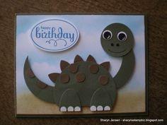 Sharyn's Stamp Biz: A Card For A Boy