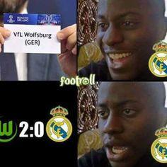 Los mejores memes del KO del Madrid en Wolfsburgo