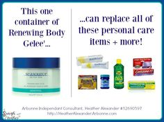 Gelee replaces all this junk