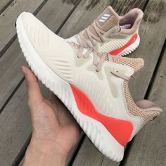 buy online 0f81a 111f5 Adidas Alphabounce Beyond Shoes White Beige CG4763 In-Hand - AnpKick.com