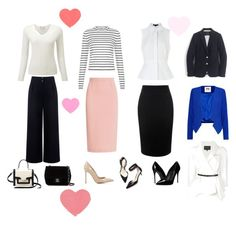 Mix and Match (Classy) by zampie on Polyvore featuring polyvore, fashion, style, Alexander Wang, J.Crew, Milly, Carolina Herrera, Être Cécile, Alexander McQueen, Roland Mouret, Gianvito Rossi, Dolce&Gabbana, Chanel, Kate Spade, 3.1 Phillip Lim and clothing