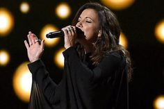 Martina McBride sings from the heart at the 50th annual ACM Awards in Arlington, Texas, on April 19, 2015.