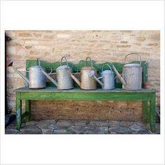 """NUOVA Grande 12/"""" Serenity Stout fioriera vasi in plastica da giardino patio Fiore Azzurro"""