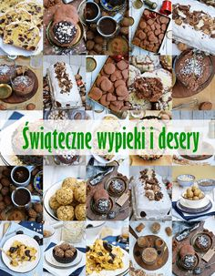Moja smaczna kuchnia: Świąteczne wypieki i desery Christmas Time, Xmas, Polish Recipes, Food And Drink, Menu, Sweets, Drinks, Cooking, Breakfast