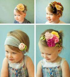 Adorable little headband ideas