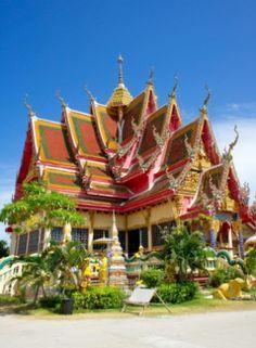 Le temple bouddhiste de Wat Plai Laem,Koh Samui #Thaïlande