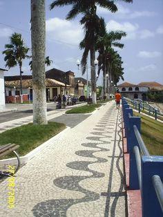 Bragança, Pará - Brasil - orla do Rio Caeté
