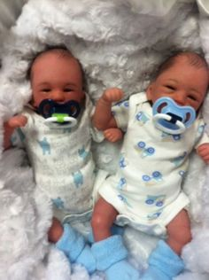 Beautiful Preemie Twin Boys
