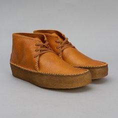 Clarks Originals Wallabee Ridge in Tan Leather