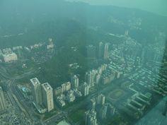 A View from Taipei 101 in Taipei Taiwan