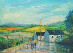 Original Irish Art Painting Ireland Well Listed American Impressionism Beautiful #Impressionism American Impressionism, Irish Landscape, Irish Art, Ireland Travel, The Originals, Painting, Beautiful, Impressionism, Art Paintings