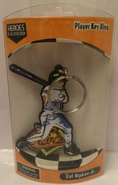 (TAS030136) - 1998 MLB Heroes Of The Locker Room Keychain - Cal Ripken Jr