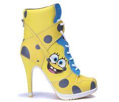 Spongebob heels