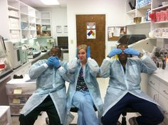 Speak No Evil, Hear No Evil, See No Evil - Great teamwork for this photo submission from a Gastro Lab in Virginia!