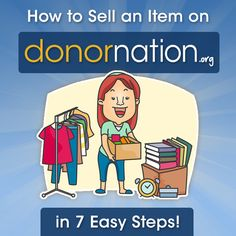 How to sell goods and services on DonorNation! @donornation #tips #shopping #fundraiser #HowTo