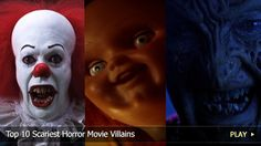 They're the baddest of the bad, and if these freaks find you, you're dead. Join WatchMojo as we count down the Top 10 Scariest Horror Movie Villains.